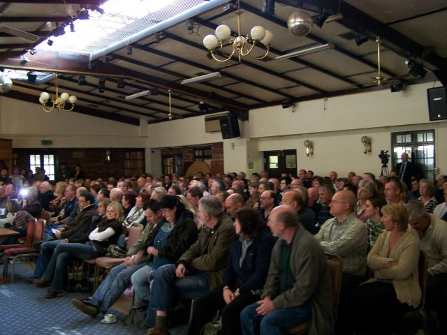 A packed audience enjoyed our speakers on both days of the conference